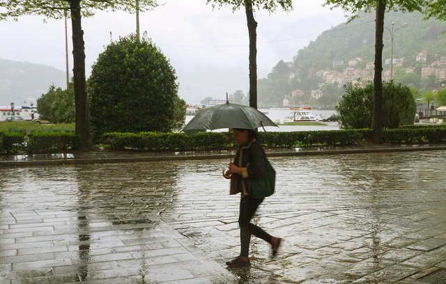 Rainstorms and strong winds across large parts of Italy