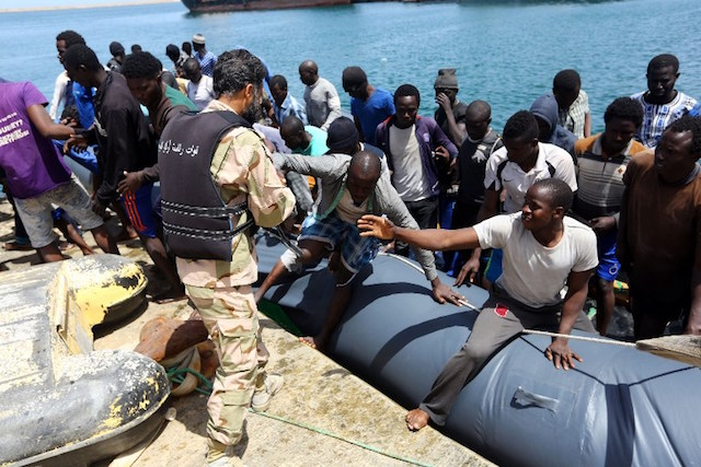 6,000 migrants rescued in Mediterranean in two days
