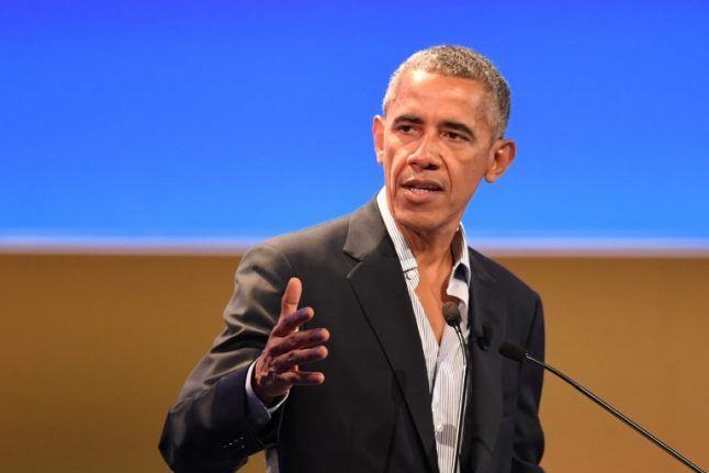 White House is 'a very nice prison', Obama tells Milan audience