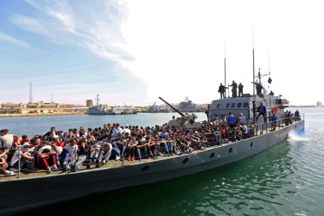 Italy and Germany call for EU mission on Libyan border