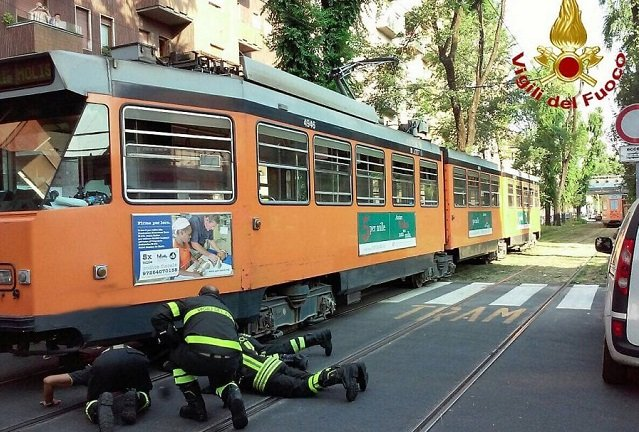 12-year-old has foot amputated after being hit by a tram in Milan