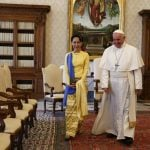 The Vatican has established full diplomatic relations with Myanmar