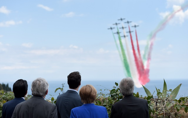 IN PICTURES: World leaders meet in Sicily for G7 summit