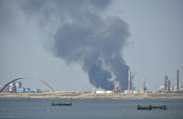 Another fire has broken out at an Italian waste depot
