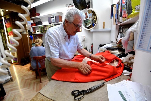 Cardinal cut: Italy's tailor to the stars of the Church