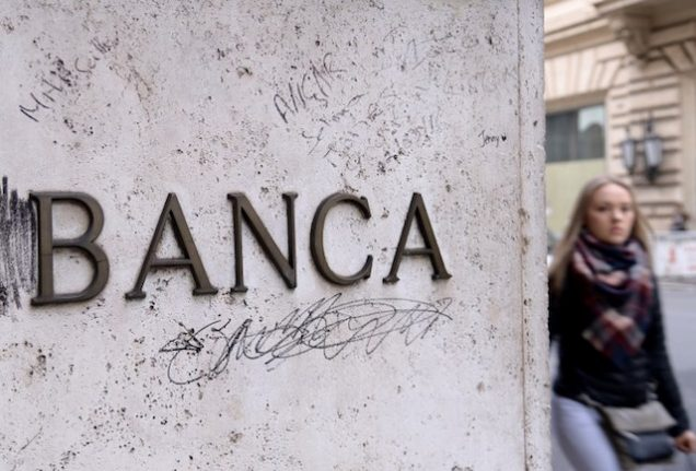 Rome out to rescue two troubled banks