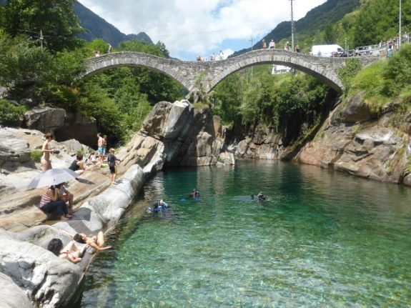 Locals grumble as Italian viral video sends thousands to Swiss village