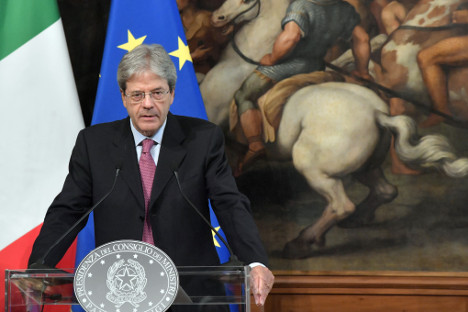 Italy moving quickly on plan to deploy ships to Libya