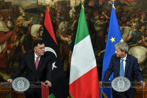 Tripoli asks Italy to help fight traffickers in Libyan waters