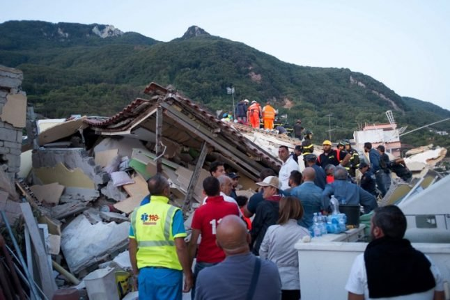 Ischia earthquake should not have been deadly, say country's top geologists