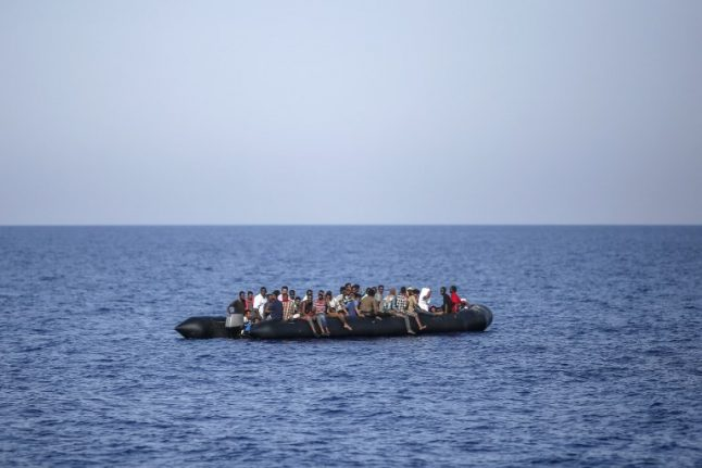 Number of migrants reaching Italy down since June
