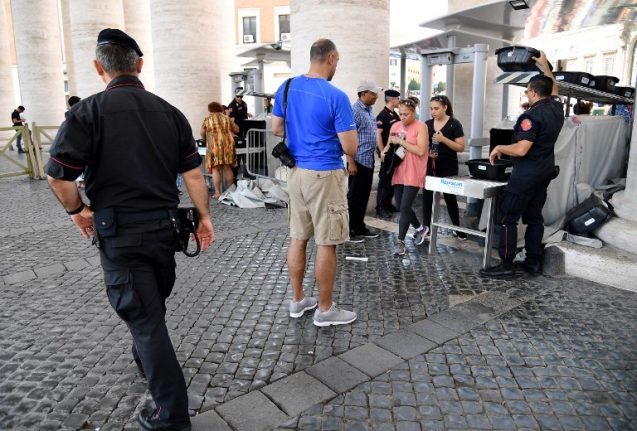 Italy increases protection of key sites after Spain attacks