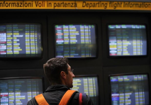 Rail incident causes serious delays at Rome Fiumicino Airport
