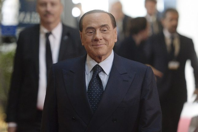 Filming for Berlusconi biopic starts at Rome's Colosseum