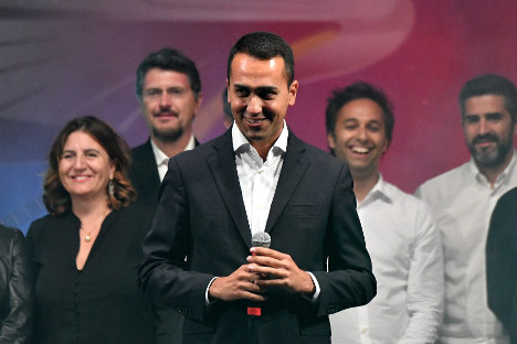 Di Maio: the face of populists eyeing power in Italy