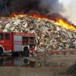 Alarm over pollution risk as northern Italian waste depot burns