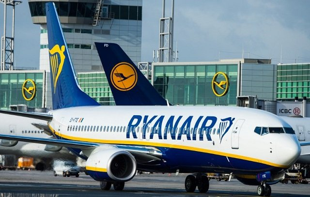 Ryanair cancels over 700 flights to and from Italy