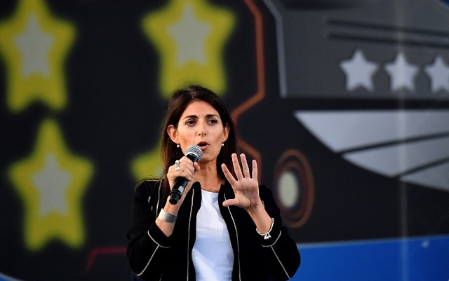 Rome prosecutors clear Raggi of abuse of office but want her put on trial for cronyism