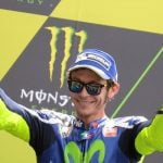 Valentino Rossi treated for broken leg after training accident