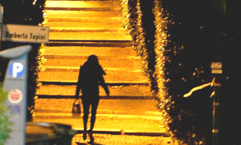 Prostitutes' customers in Florence face jail and fines