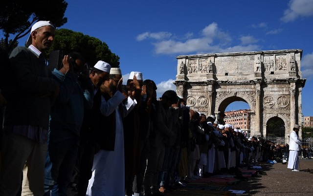 How do Muslim immigrants feel about life in Italy?