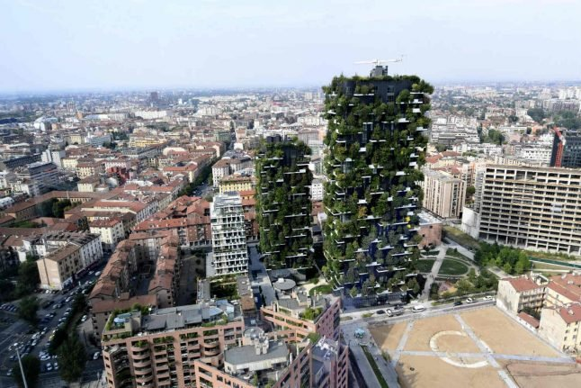 Italy's high-rise forests take root around the world