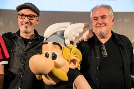 Asterix returns in chariot race through Italy