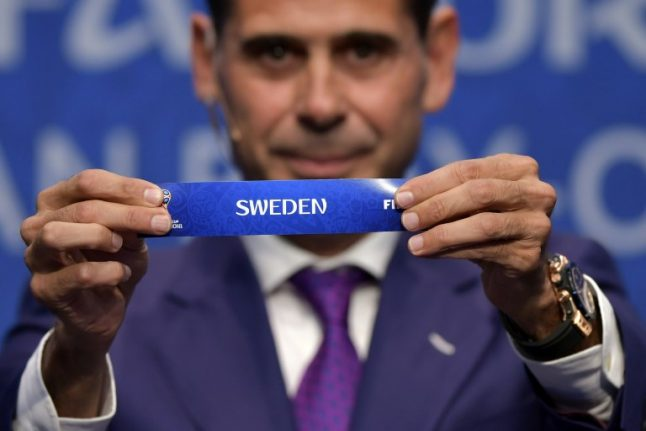 Italy face Sweden in World Cup playoff