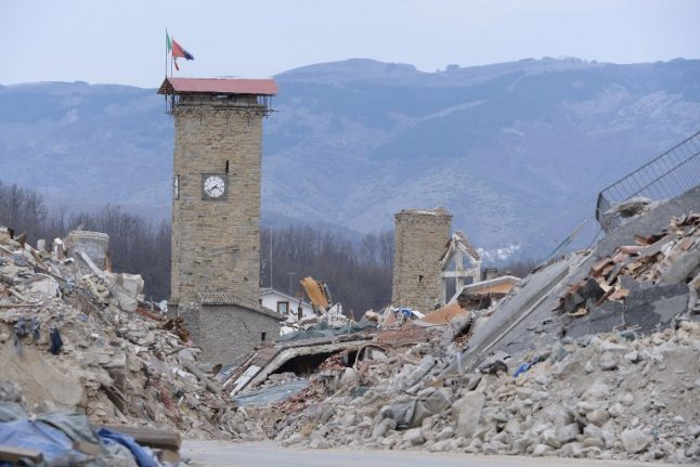 Italy's Amatrice put on list of world's most endangered heritage