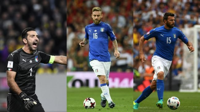Italy's old guard in World Cup final stand