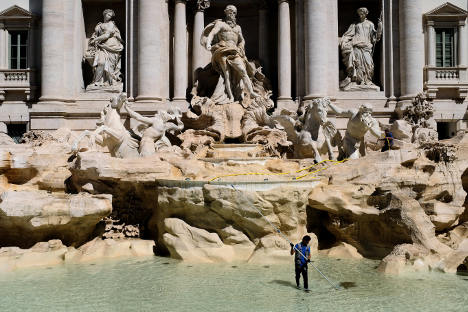 Cash-strapped Rome eyes up Trevi Fountain coins