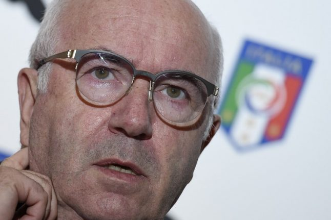 Former Italian football president accused of sexual harassment