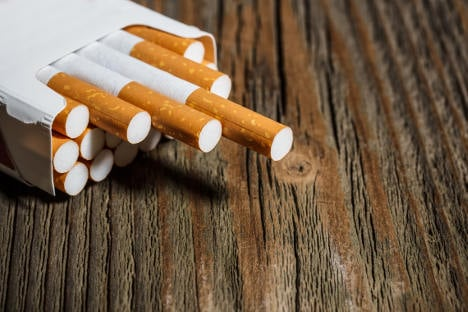 Pope stubs out cigarettes sales in Vatican