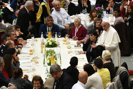 Pope denounces 'indifference' on first 'World Day for the Poor'