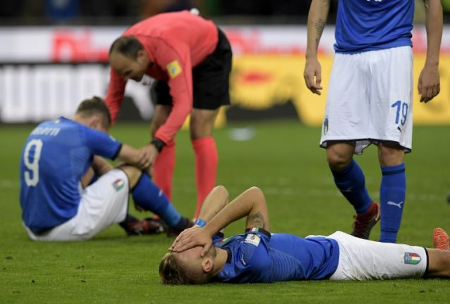'Italy, this is the apocalypse': Azzurri fail to make World Cup