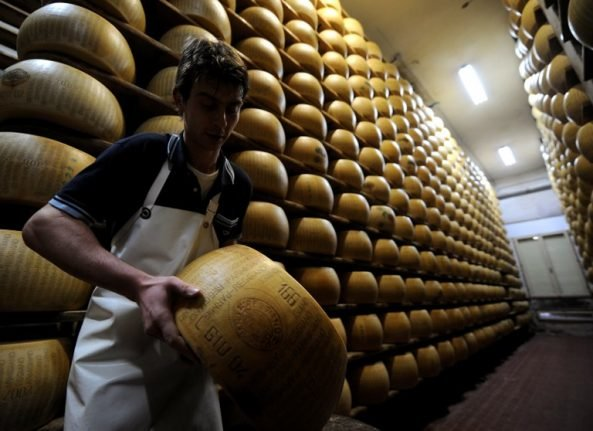 The world is eating more Italian cheese than ever before