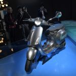 Made in Italy, the first electric Vespa