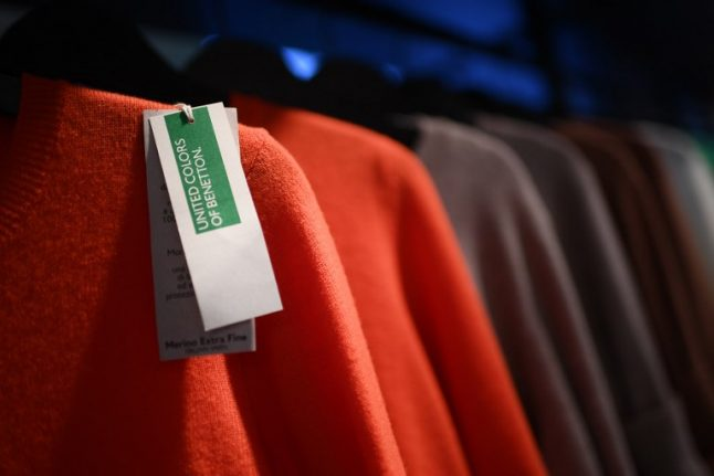 Benetton's Italian founder returns to save company, age 82