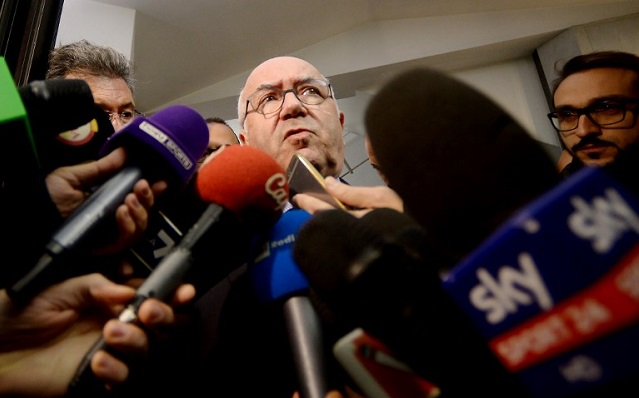 Italy's FA president Carlo Tavecchio quits after World Cup disaster