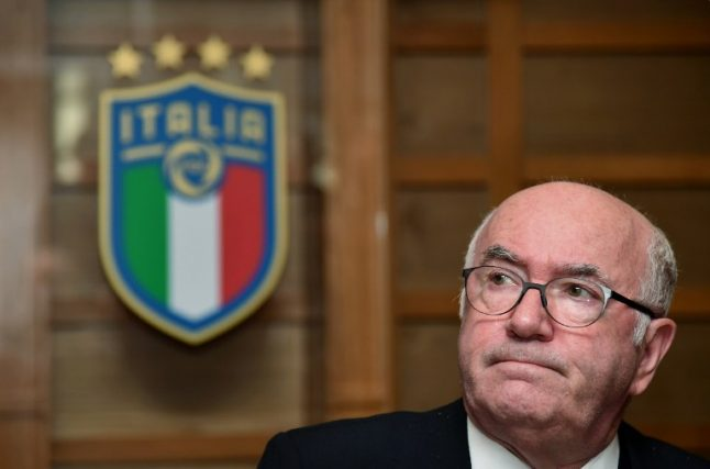 Carlo Tavecchio: 'I should have switched Italy's World Cup coach'