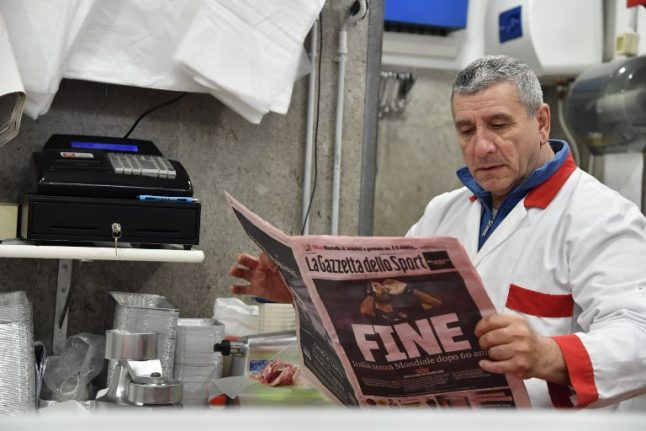Five things that explain Italy's World Cup disaster