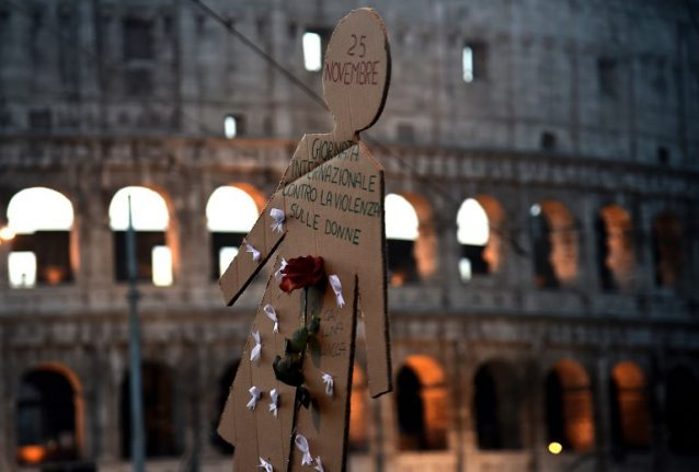 At least 114 women were murdered in Italy this year