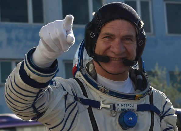 Italian astronaut back on Earth after 139 days in space