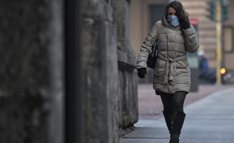 Car ban in place as northern Italian cities fight smog