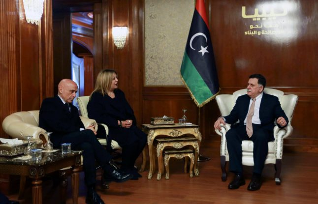 Libya, Italy to join forces against people traffickers