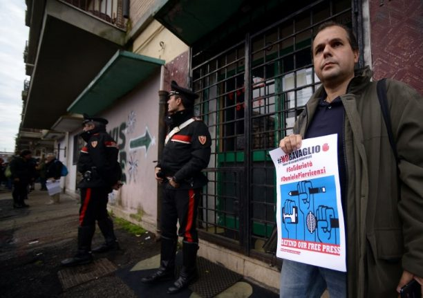 Nearly 200 journalists in Italy are under police protection