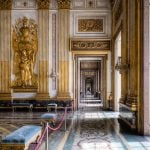 Another bit of the Caserta Palace has fallen off