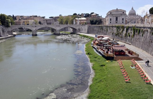 Rome will have beaches by the Tiber next summer