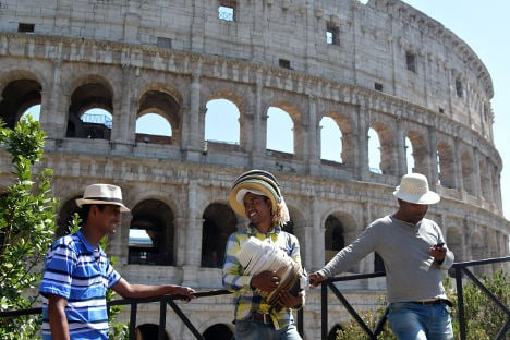 Colosseum's new director pledges to rid the area of the 'souk'