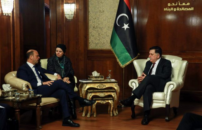Italy foreign minister visits Libya